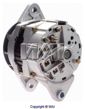 delco 21si alternator wiring diagram 7644n - wps, alternator - delco 21si series 145-160 amp/12 ... delco cs alternator wiring diagram