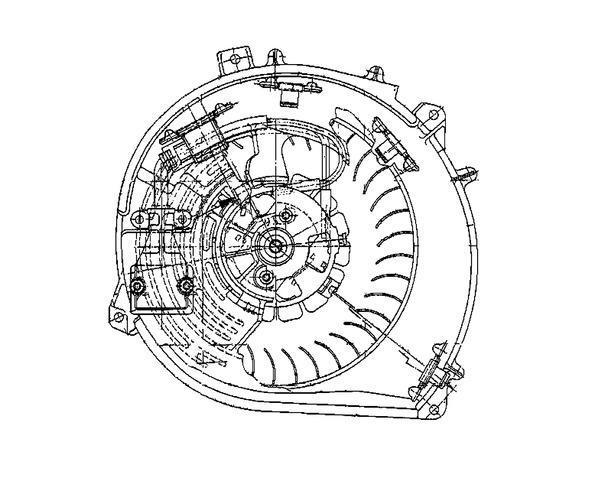 Carrier Weathermaker 8000 Blower Motor